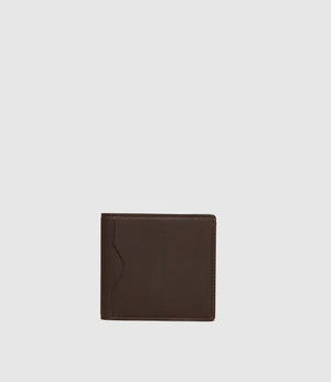 Thin Billfold Natural Calfskin Cafe