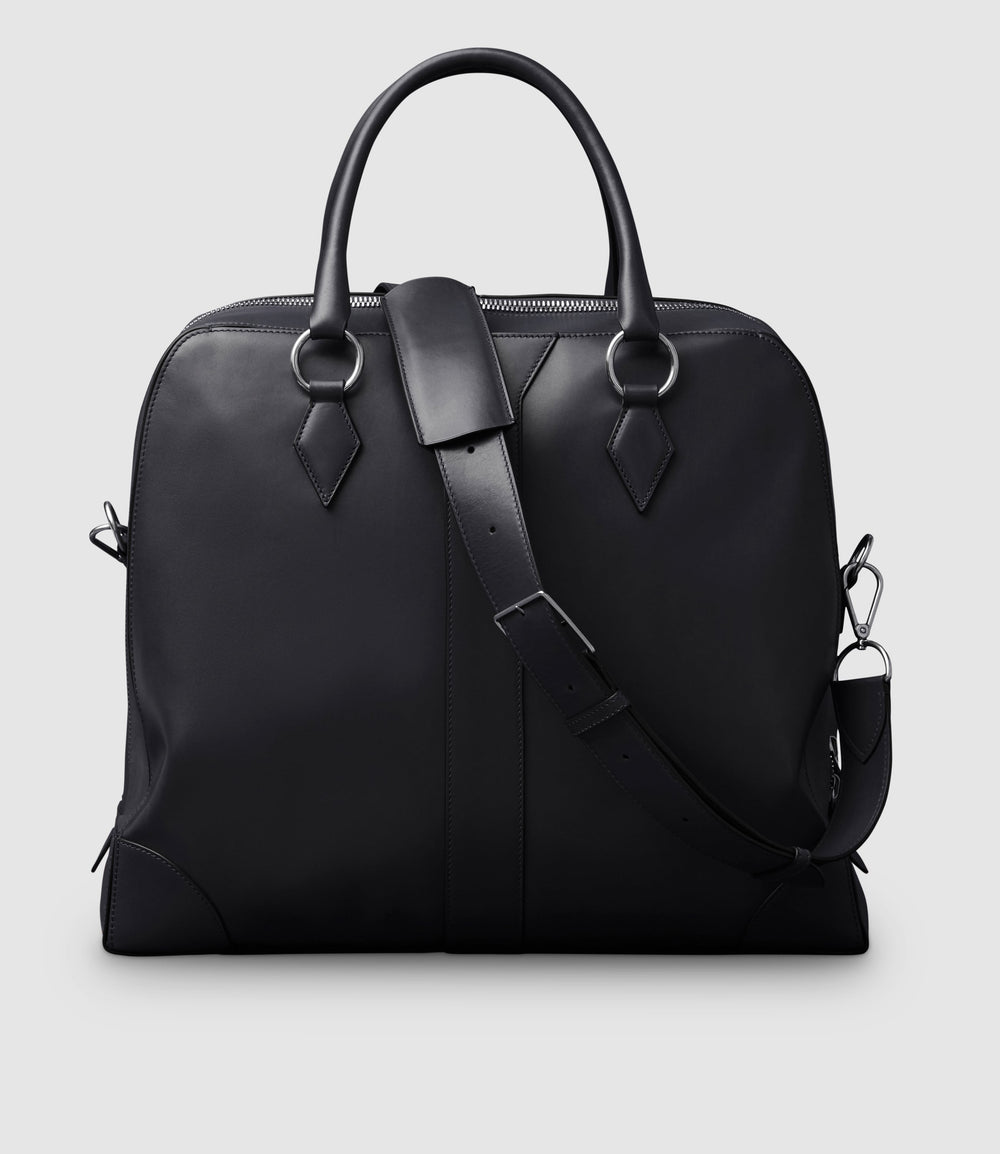 Le Voyage Two to Three Night Bag Atelier Calfskin Black