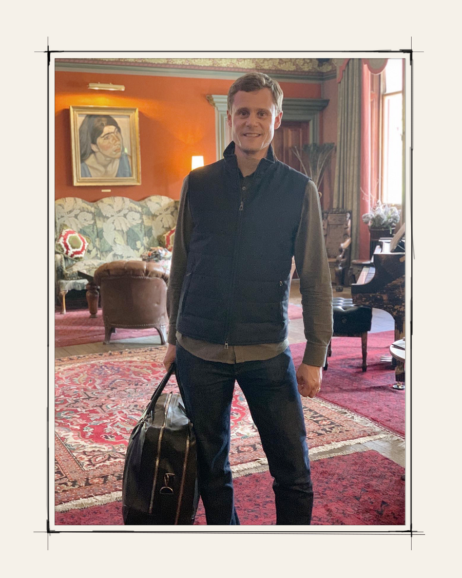 """""""I never leave the house (or the city!) without my Métier. Melissa is someone I admire for her creativity, her love for design and quality, and her focus on the smallest details, all attributes that put a Métier bag on a different level."""" - Jannes Soerensen, General Manager, Beaumont"""