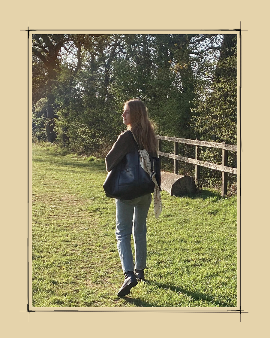 """""""Métier isn't only a brand, it's a lifestyle. My weekend bag has traveled with me everywhere - from Mexico City to the English countryside - and I have memories from each trip whenever I use it."""" - Laura Stoloff, Creative Consultant & Stylist"""