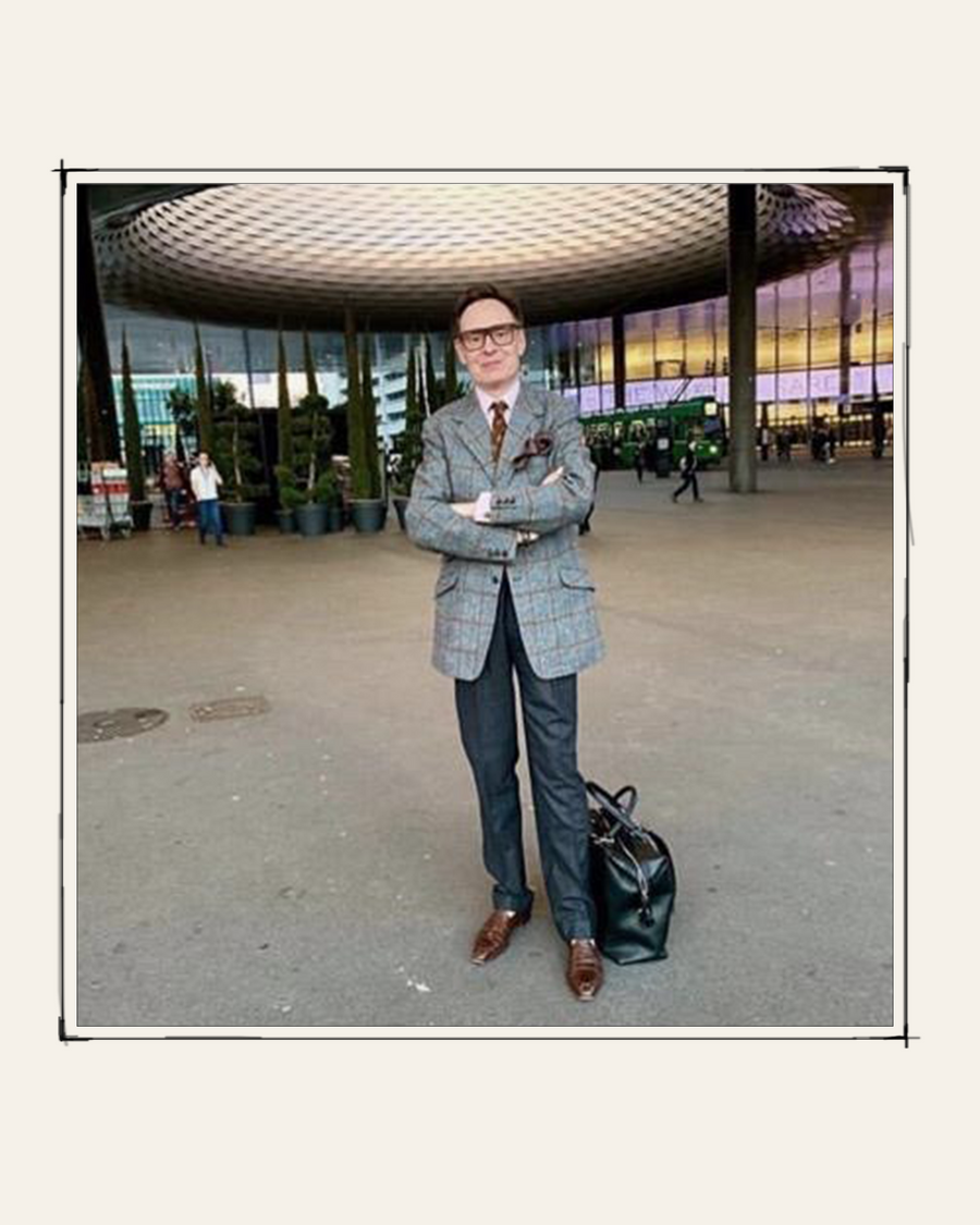 """""""My Métier bag was companion last summer on various adventures and escapades including a 72-hour wedding in Ibiza and a revolution in Lebanon - it copes with the excitement better than I do"""" - Nick Foulkes, Author, Journalist & Editor"""