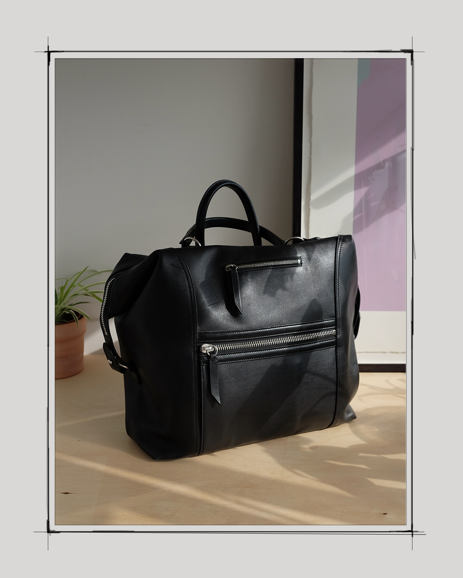 """""""I started working with Melissa when she was designing the very first bags and the brand was just an idea in her head. Her passion and drive stood out then and it's amazing to see how Métier has come to life since!"""" - Pete Sampson, Website Designer"""