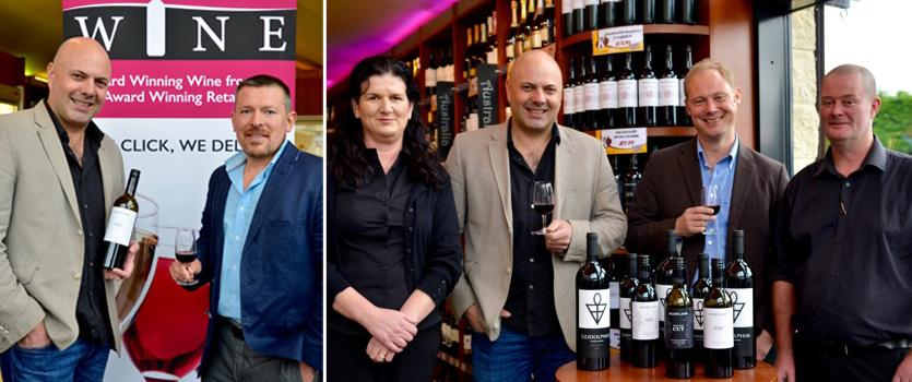Ben Glaetzer from Glaetzer and Heartland Wines, Barossa Valley South Australia and Nick Keukenmeester from Heartland Wines visit Kennys and Home Delivery Wine