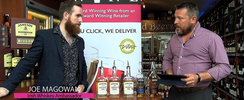 Home Delivery Wine talk to Irish Whiskey Ambassador Joe Magowan of Powers Whiskey