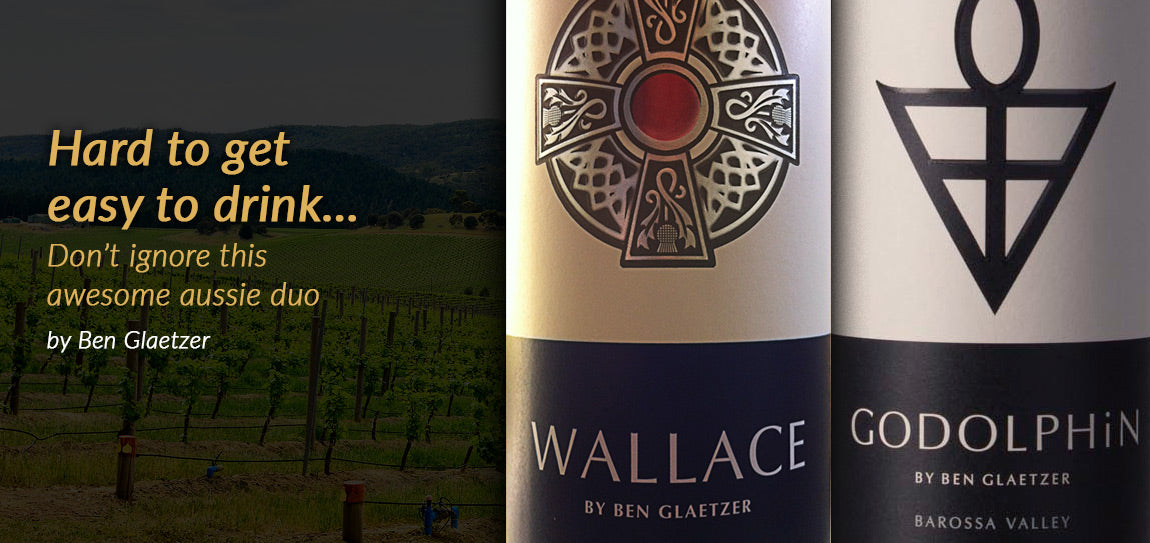 HOME DELIVERY WINE looks at two great Australian reds by Glaetzer that deserve our undivided attention…