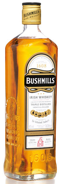Bushmills Original Blended Irish Whiskey Northern Ireland 1lt