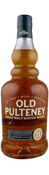 Old Pulteney 21 Year Old Single Malt Scotch Whisky
