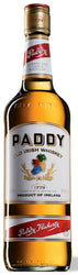 Paddy Blended Irish Whiskey County Cork Ireland