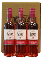 Sutter Home White Zinfandel case of 6 bottles