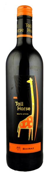 Tall Horse Shiraz, Western Cape, South Africa.