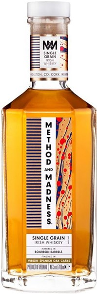 Method And Madness Whiskey Single Grain