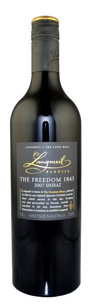 2007 Langmeil Winery The Freedom Shiraz, Barossa Valley, Australia