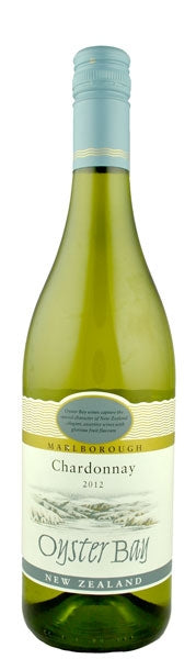 Oyster Bay Chardonnay, Marlborough, New Zealand.