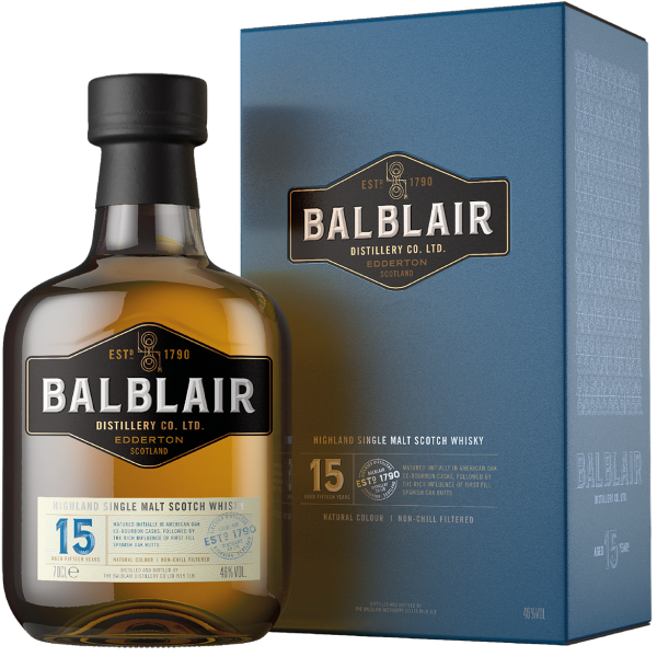Balblair 15 Year Old Scotch Whisky