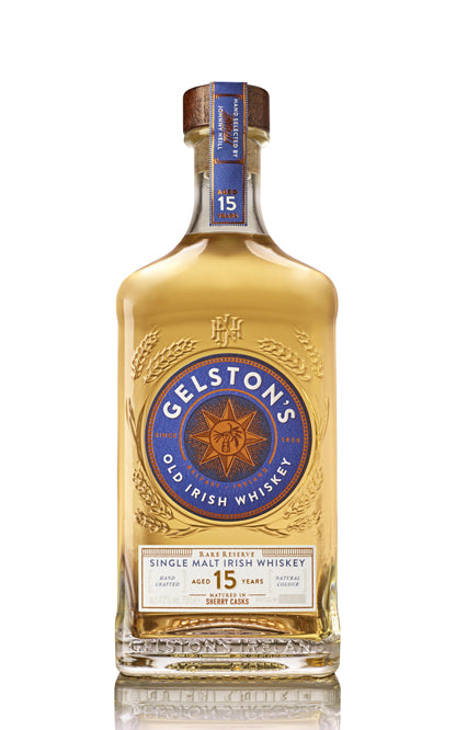 Gelston's AGED 15 YEARS, FINISHED IN SHERRY CASKS