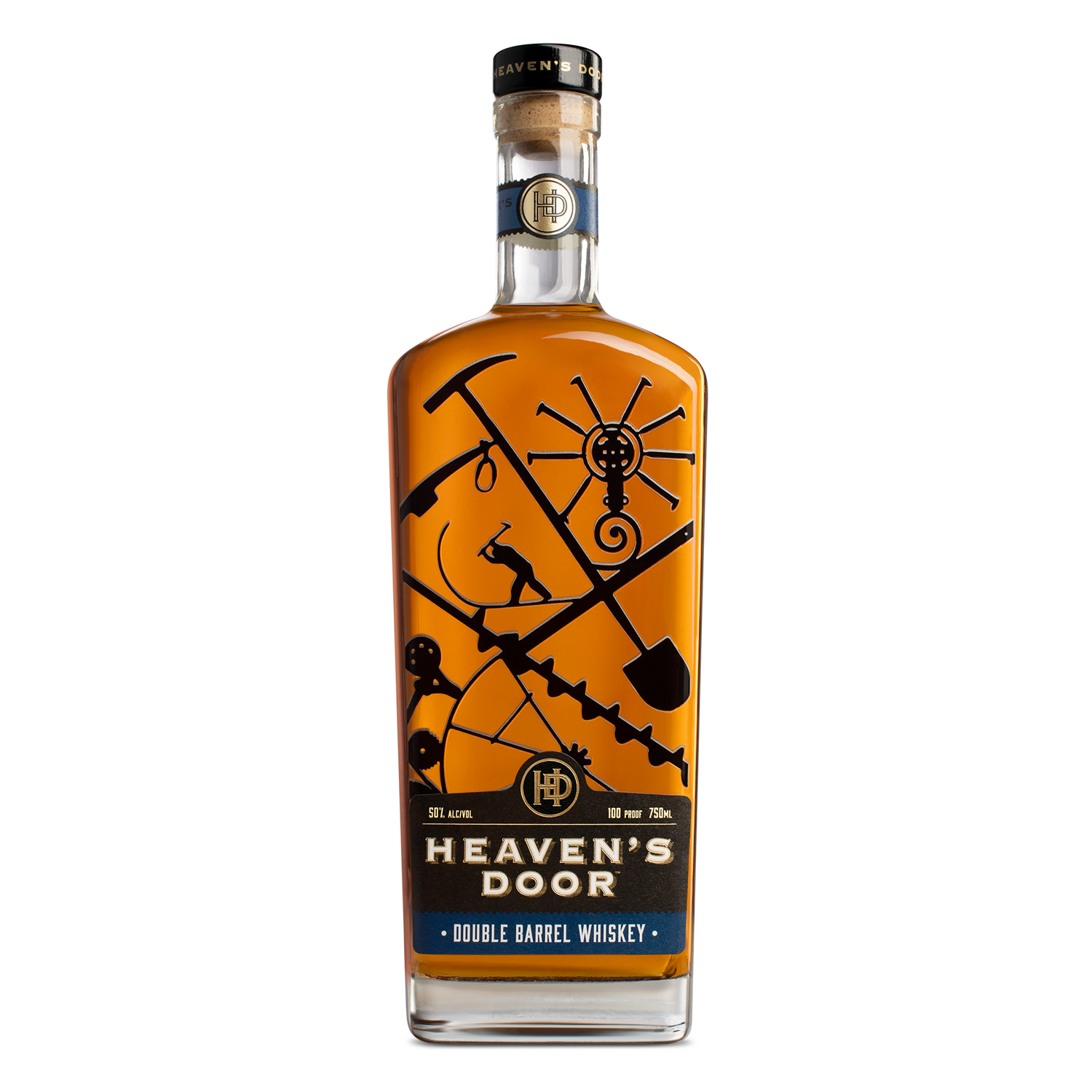 Heaven's Door Double Barrel Whiskey - Bob Dylan