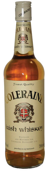 Coleraine Blended Irish Whiskey, County Antrim, Northern Ireland
