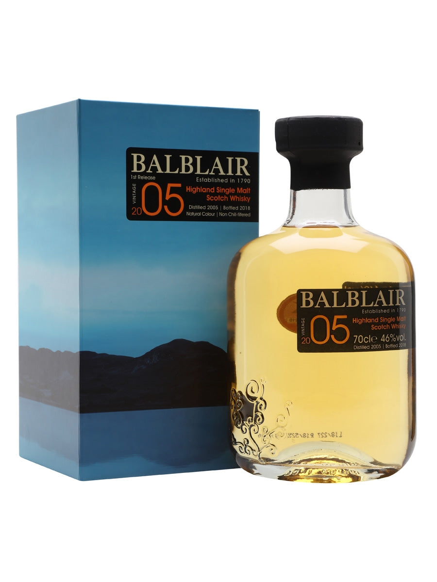 Balblair 05 Single Malt Scotch Whiskey