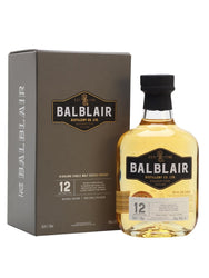 Balblair 12 Year Old Scotch Whisky