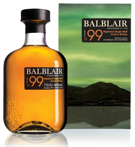 Balblair 1999 Highland Scotch Whisky