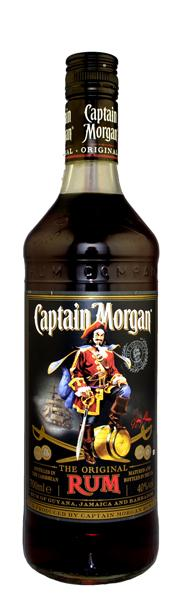 Captain Morgan Black Label rum, 70cl.