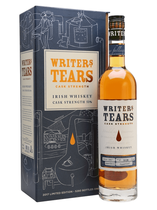Limited Edition Writers' Tears Cask Strength 2017 Irish Whiskey