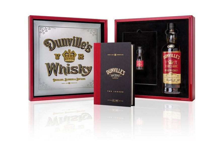 Dunville's VR 18-year-old Port Mourant rum finish Single Malt