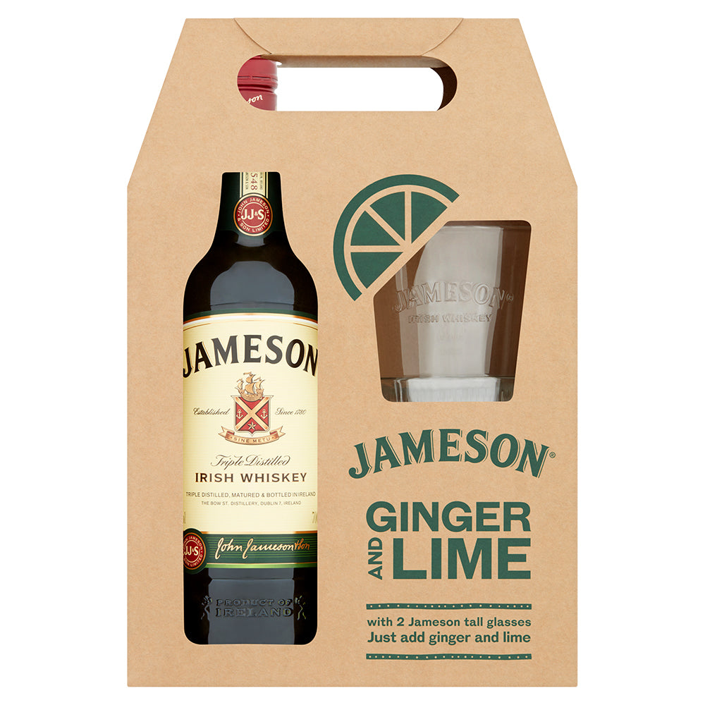 Jameson Ginger & Lime Gift Set