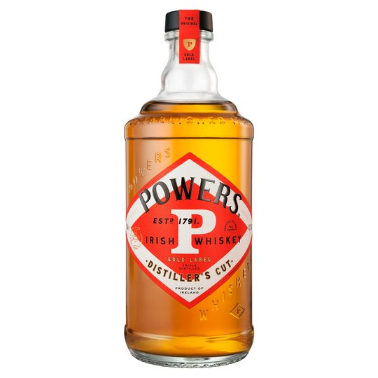1ltr Powers Gold Label Triple Distilled Irish Whiskey