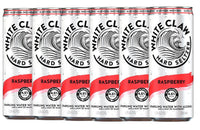 White Claw Hard Seltzer Raspberry.