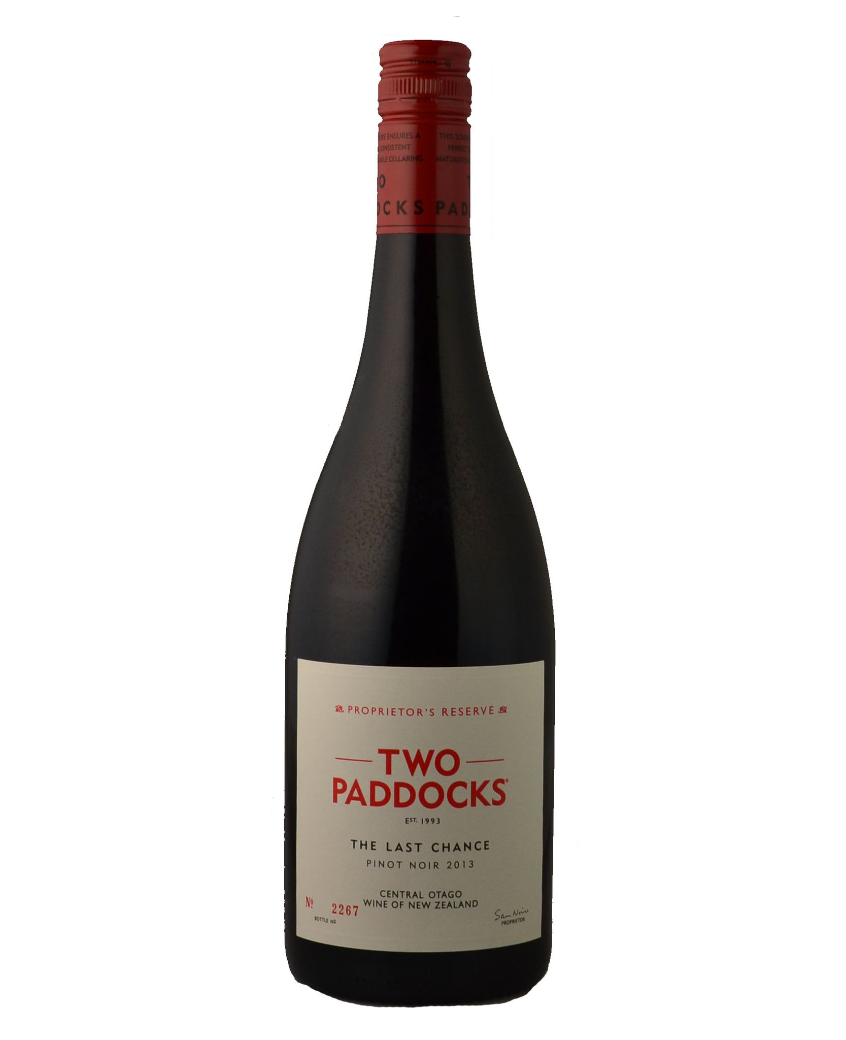 Two Paddocks - The Last Chance Pinot Noir 2013