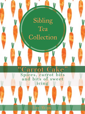 "TEA/ LOOSE LEAF ""Carrot Cake"" 3 oz. Tin"