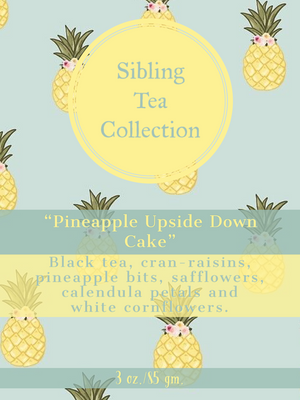 "TEA/ LOOSE LEAF ""Pineapple Upside Down Cake""  3 oz. Tin"
