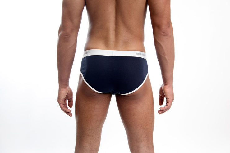 Whale Brief blue