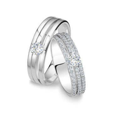 Grandeur Wedding Bands