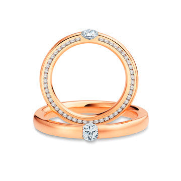 Hearts Desire Wedding Bands