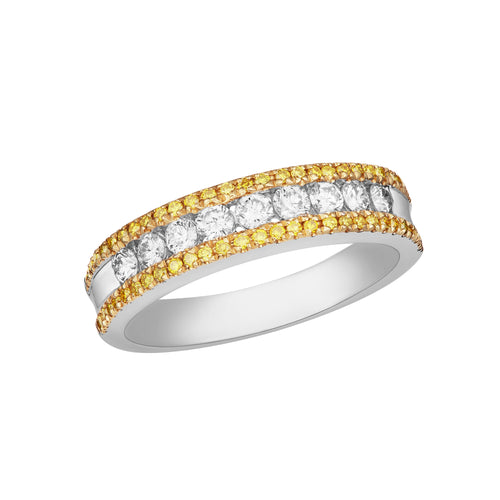 Fancy Diamond Reina Ring