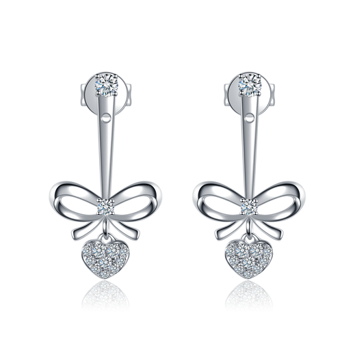 Destinée Knotted-in-Love Earrings