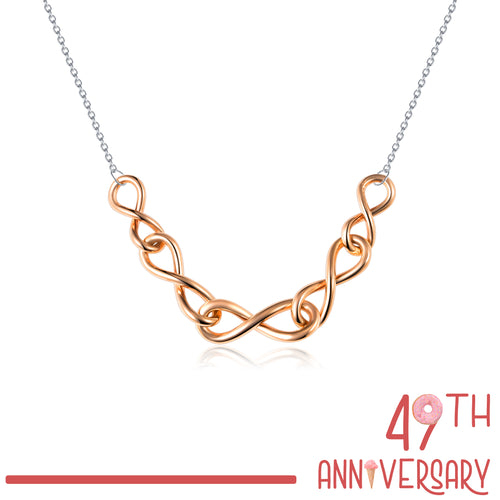 Rosetto Infinity Necklace