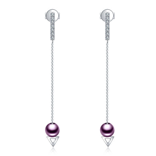PurpleGold Izella Earrings