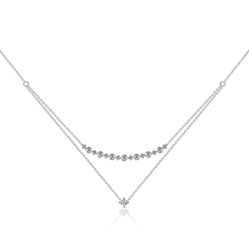 Forevermark Black Label Dual Tier Necklace