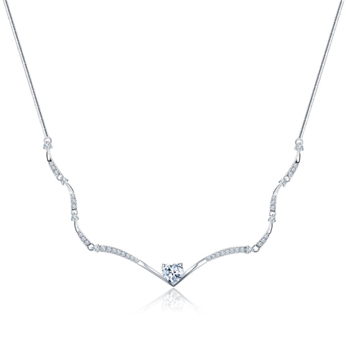 Forevermark Black Label Heart Strings Necklace