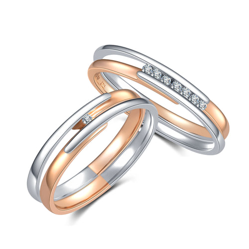 Jorn Rainer Union Rings - Hers