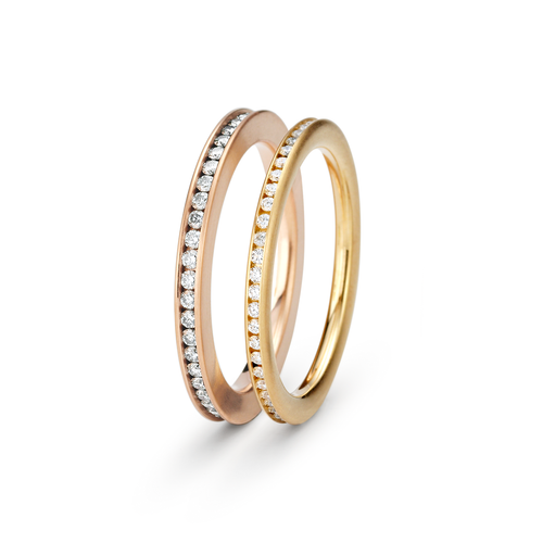 Niessing Satellite Wedding Bands