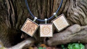wooden pendants gifts