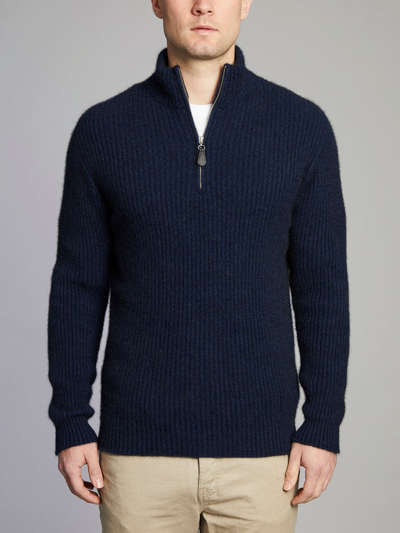 Woodend 1/2 Zip Jumper