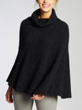 Tarlo Roll Neck Poncho