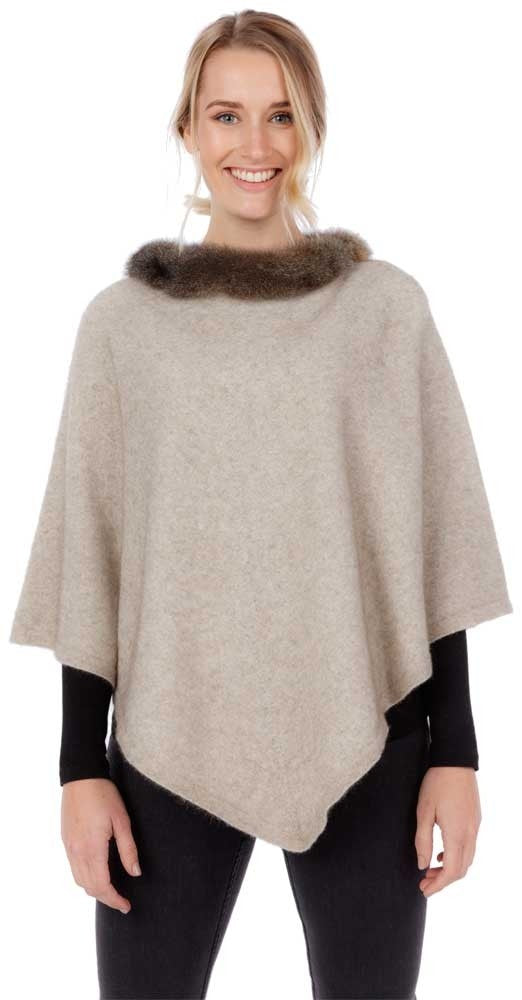 Possum Trim Poncho