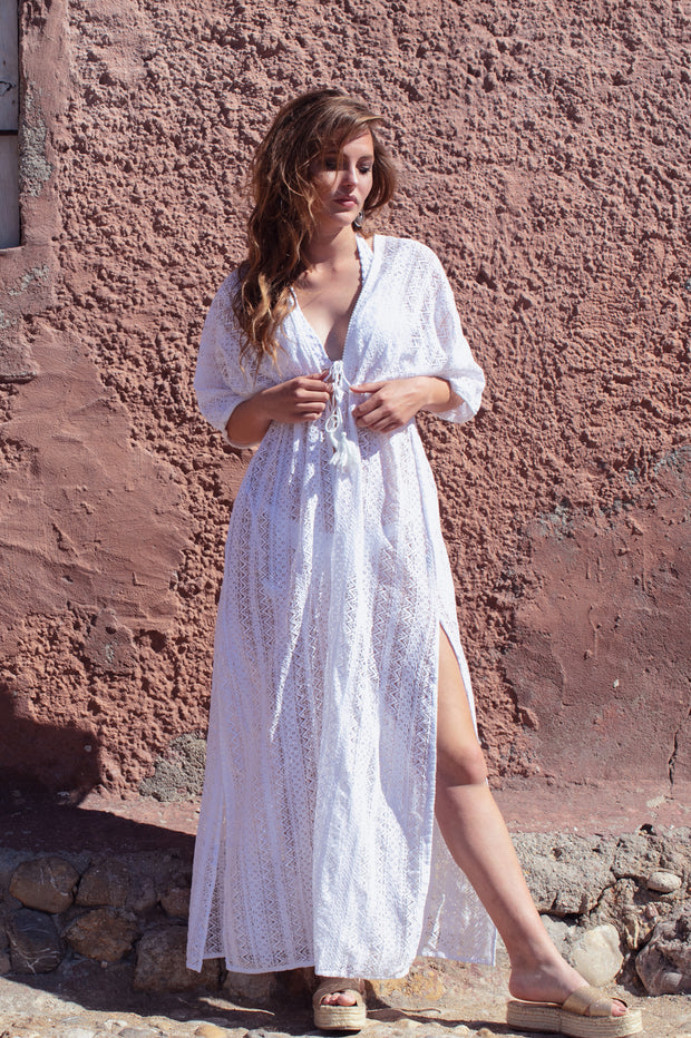 Illot Lace Cover Up - Yangzom Ibiza Resortwear