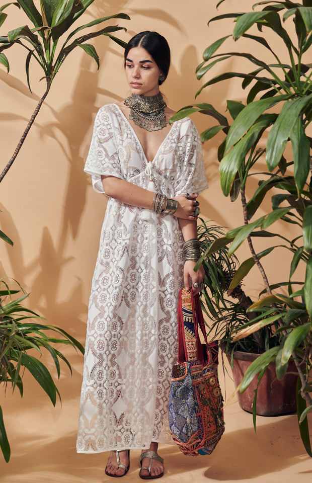 Talamanca Lace Maxi Dress
